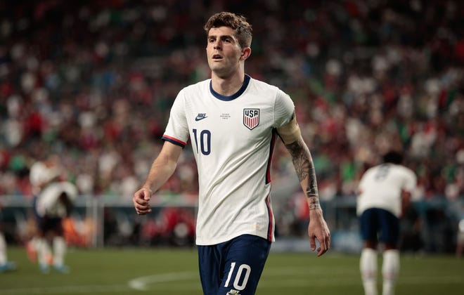 Christian Pulisic has scored 16 goals in 38 appearances for the USMNT.