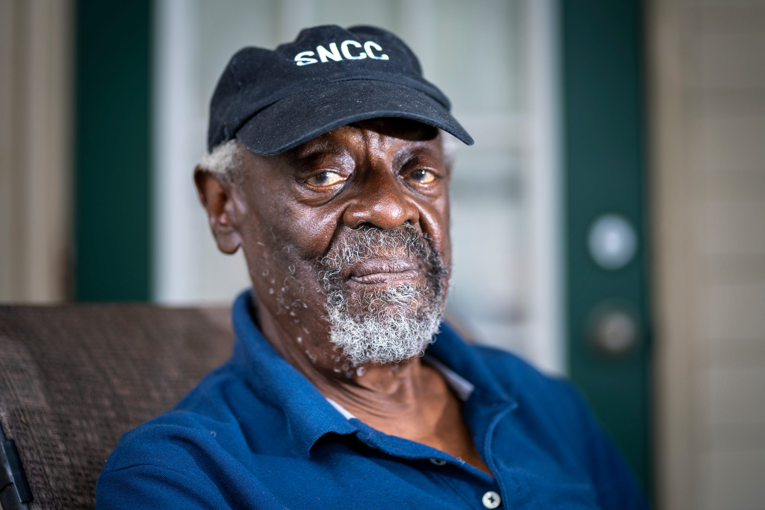 """Reginald """"Reggie"""" Robinson, who coordinated voting registration efforts in McComb, Miss., with the Student Nonviolent Coordinating Committee, at his home in Baton Rouge, La., July 31, 2021."""