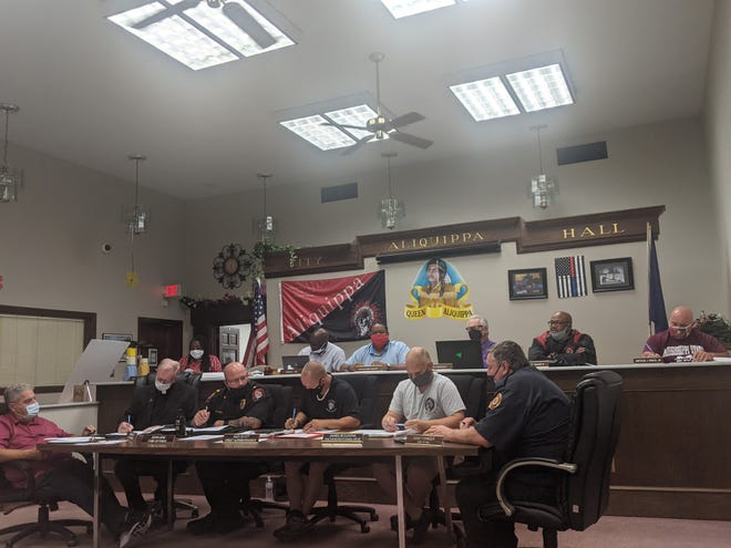 Speeding along Admiral and 21st streets in Aliquippa was discussed during the most recent city council meeting.