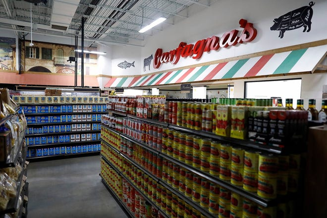 Inside Carfagna's Famous Market & Ristorante, which is expected to open next week in Polaris