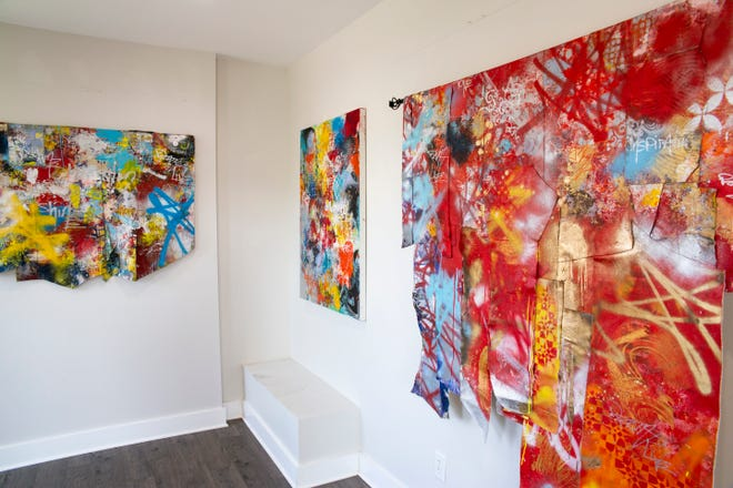 """""""Post No Ills,"""" a new exhibit from artist Lance Johnson, on display at Streetlight Guild"""