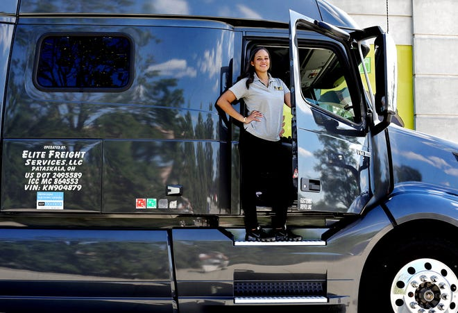 Samantha Smith is co-founder of Leading Ladies of Logistix, a national organization that supports female transportation and logistics professionals. Smith also co-owns a transportation company, Elite Freight Services.
