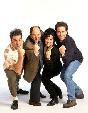 "The cast of NBC's ""Seinfeld,"""