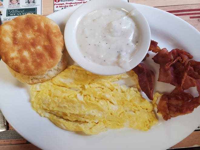 Davidson County residents love to eat out for breakfast and have shared some of their local favorite spots to start their day. Pictured is a breakfast plate from Thomasville Diner, which tied for fifth place as The Dispatch readers a favorite place to eat breakfast in the county.