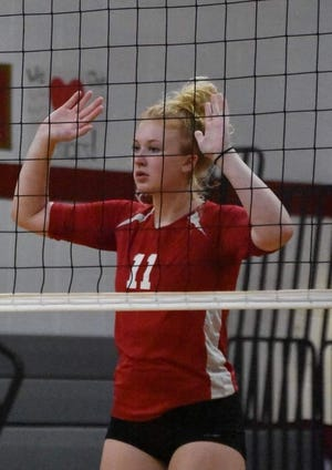 Litchfield's Jenna Miller was a nominee for the week one Athlete of the Week poll. She was unable to play in Litchfield's week three game against Hillsdale Academy.