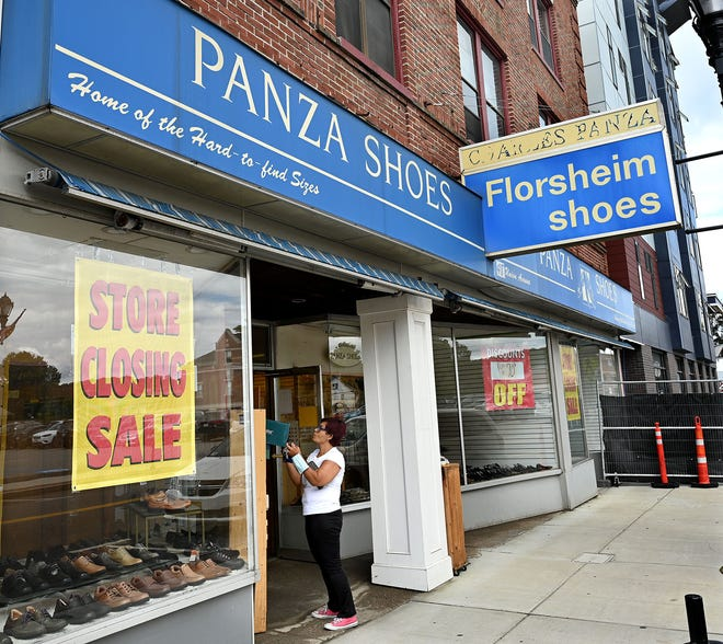 Specializing in hard-to-find sizes, Panza Shoes has been a downtown Framingham landmark for over 75 years.