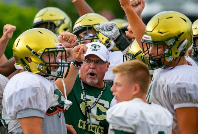 Trinity Catholic coach John Brantley hopes to kick off season Friday night.