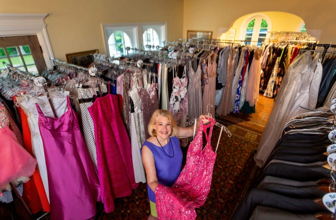 Laura Wissa has hundreds of prom dresses hanging in her Palm Beach home for the Prom Beach donation-based nonprofit, which provides prom clothes for county teens.