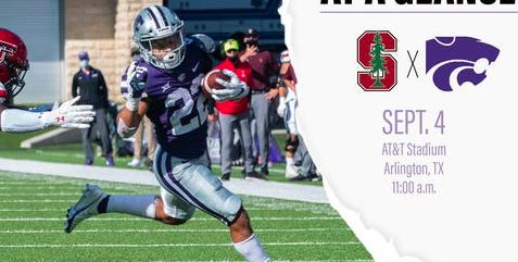 The Kansas State University Wildcats kicks off the 2021 football season against the Stanford Cardinals this Saturday in Arlington, Texas.