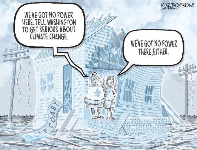 Gulf Coast editorial cartoon