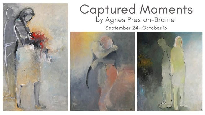 """The Burgwin-Wright House hosts """"Captured Moments"""" by Agnes Preston-Brame."""
