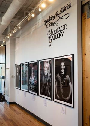 """A photography exhibit, """"I Am More: Facing Stigma,"""" at the Alternatives Whitin Mill on is a collaboration between ValleyCast and The Tulip Project and focuses on those battling mental illness."""