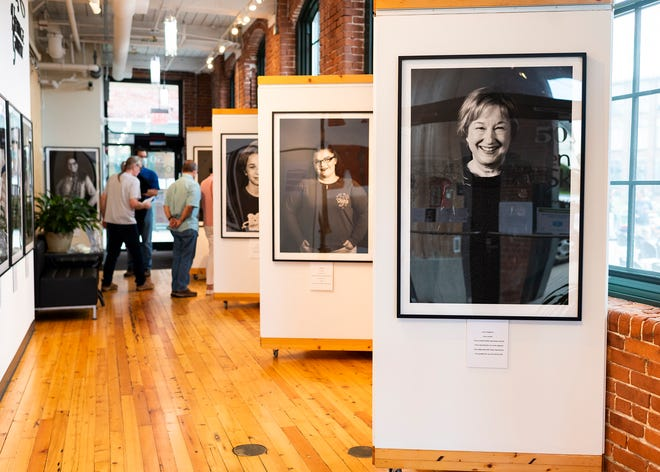 """""""I Am More. Facing Stigma,"""" which first opened in 2019 in Portland, Maine, will be on display in Whitinsville through Oct. 8."""