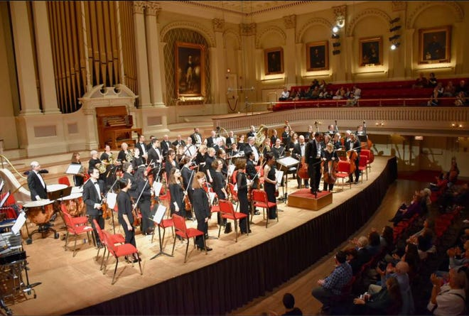 The New England Symphony Orchestra will be returning to Mechanics Hall for a Sept. 11 performance.