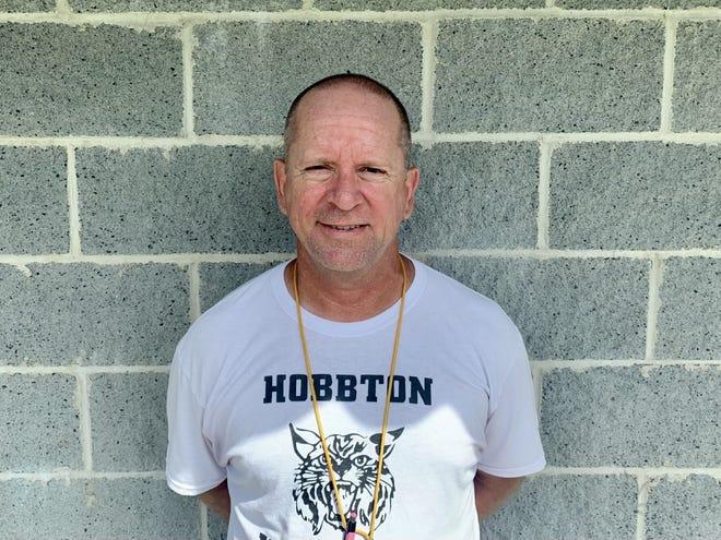 Hobbton football coach Joe Salas 2021