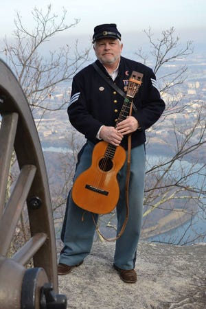 Steve Ball will present Music of the Civil War at the Dover Library.