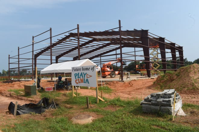 Play Cenla,located at 1008 Bayou Place in Alexandria behind Tractor Supply on North MacArthur Drive, is currently under construction.