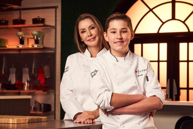 Scottsdale mother-son duo Bobbie Lopez and Jack Cruickshank compete in season one of Top Chef Family Style.