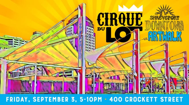 A combination street fair/Downtown Artwalk/musical concert with fireworks, food, and vendors.gets underway at 5 p.m.Friday at The Lot,400 Crockett Street, the former Sportran bus terminal reimagined as an outdoor festival space.