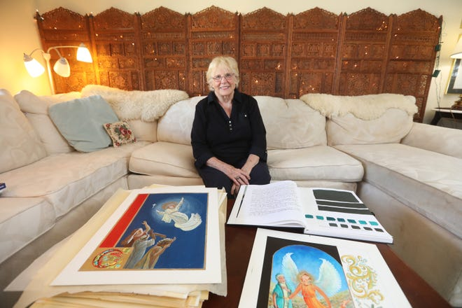 Irene Baron has had a long and varied career in education, the arts and sports. Her current projects include a painted book of angels, which she has been working on for many years.