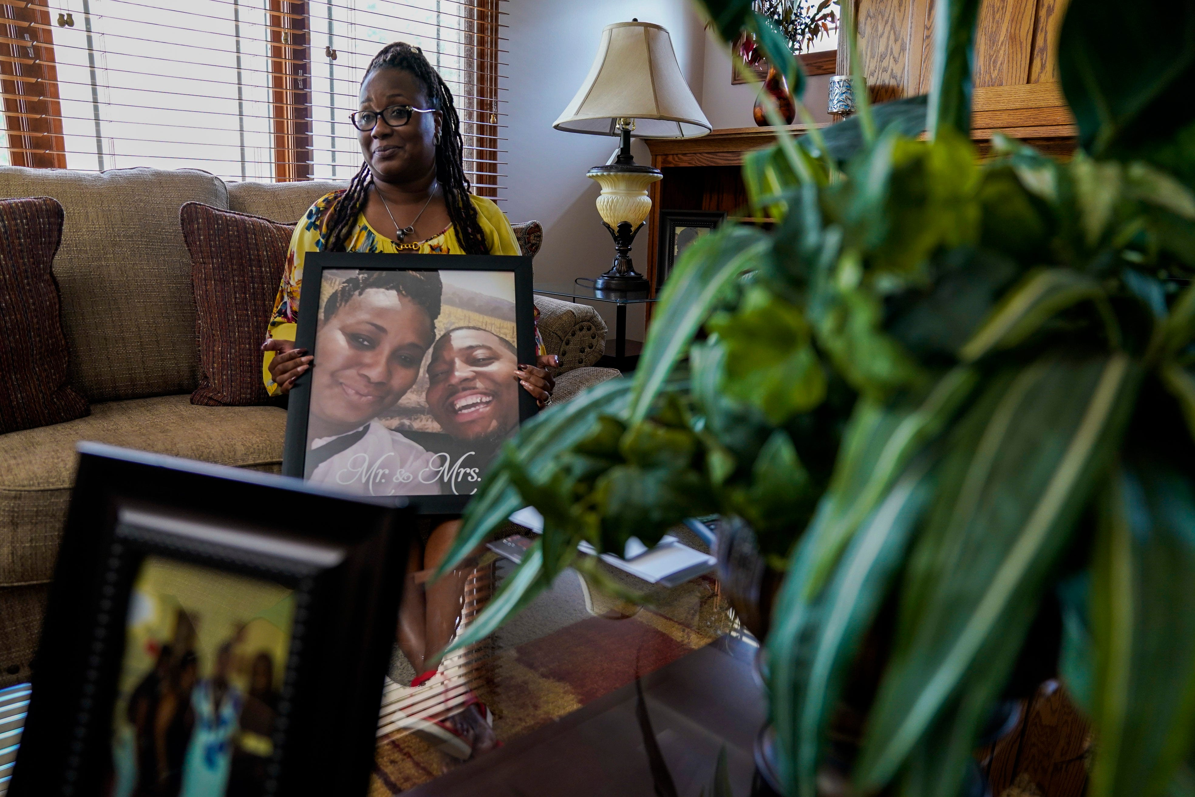 Eric Lurry's widow, Nicole, is suing the Joliet Police Department for negligence due to his death in custody.