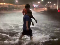 New Jersey Governor Phil Murphy declared a state of emergency in all of his state4's 21 counties, urging people to stay off the flooded roads as the remnants of Hurricane Ida cause widespread floods. (Sept. 2)