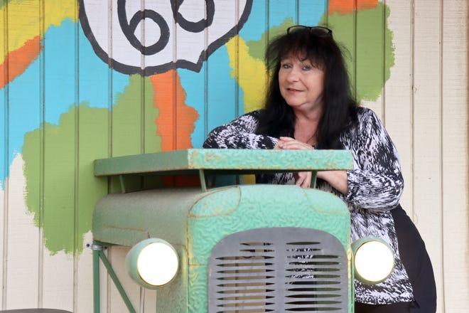 Sonya Lukas owner of Sonya's on Historic Route 66