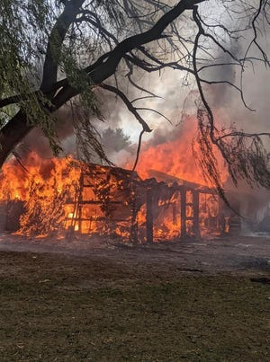 Jack and Laurie Nichiporuk's home was destroyed by fire Aug. 15.