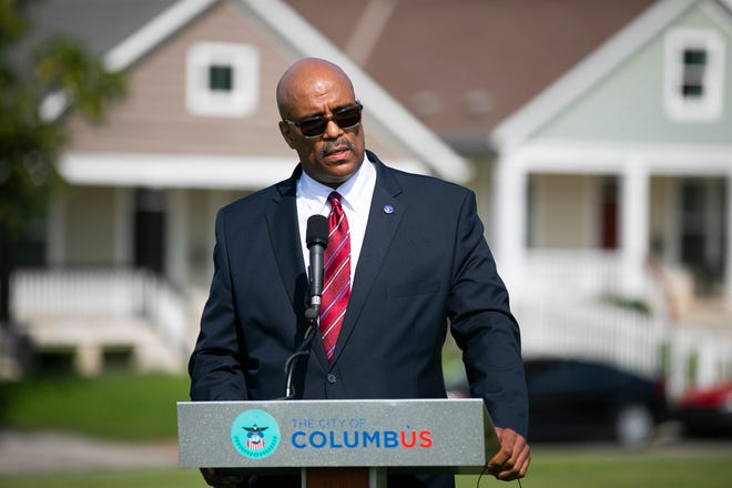 Robert Clark, a former FBI agent, was introduced Friday as the new Columbus public safety director.