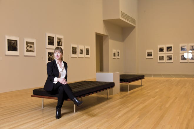Johanna Burton photographed in the Wexner Center for the Arts on March 4, 2019 for Columbus CEO.  (Rob Hardin / CEO)