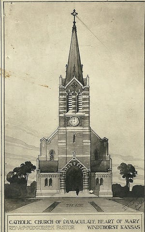 The history of the Catholic Church in our area such as the Windhorst Church.