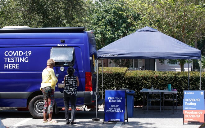 Two newpop-up coronavirus testing clinicsare opening in Volusia County's biggest cities, Deltona, and this one in Daytona Beach, to help respond to the surge in COVID-19 cases.