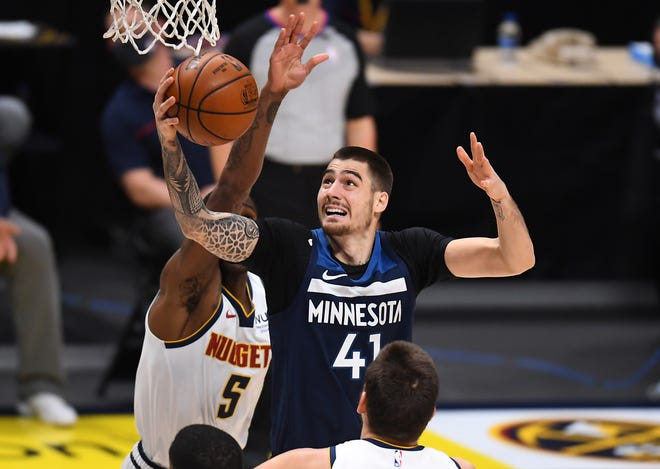 According to reports, the Celtics acquired Timberwolves forward Juancho Hernangomez in a trade on Friday.