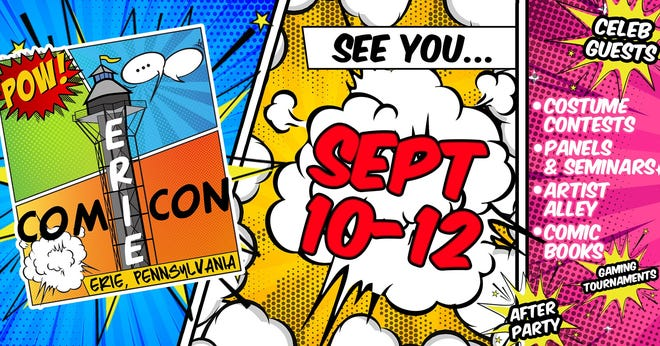 ComiCon hits Erie this weekend.