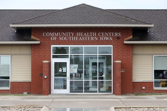 Community Health Centers of Southeastern Iowa is shown Friday at 1706 W. Agency Road in West Burlington.