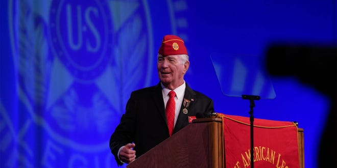 Paul Dillard was recently elected national commander of the American Legion.