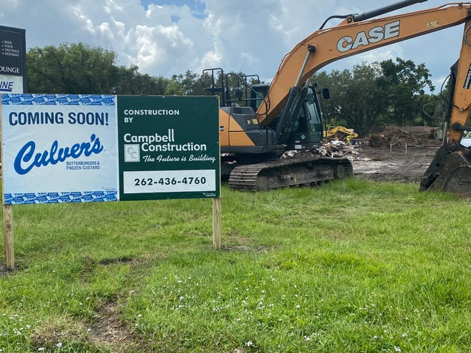 Site preparation is well underway on the new Culver's at U.S. 98 North and Harvard Street in Lakeland.