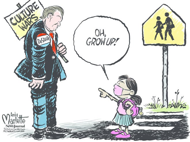 Today's editorial cartoon (Sept. 7, 2021)