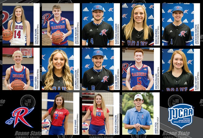 2020-21 Roane State student-athletes earn All-American honors.