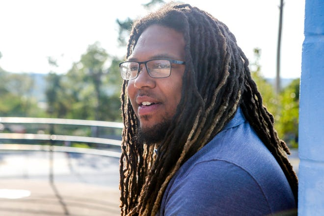 Corey Jones — protester, office-seeker, adviser to Gov. Dan McKee.