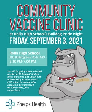 Phelps Health is hosting a Pfizer COVID-19 vaccine clinic Friday.