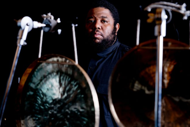 Percussionist Tyshawn Sorey will join with violinist Jennifer Curtis for a program of improvised music for New Music New College.