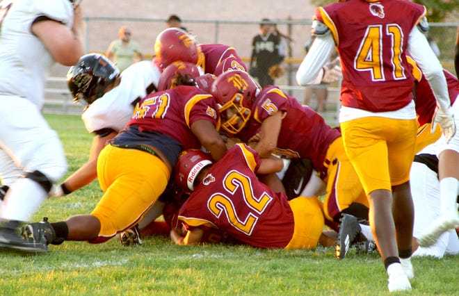 The Barstow football team beat Hesperia 28-14 at Langworthy Field in Barstow on Thursday night.