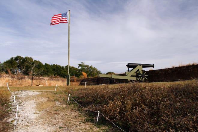 Fort Barrancas is built upon the site of four 18th-century Spanish presidios.