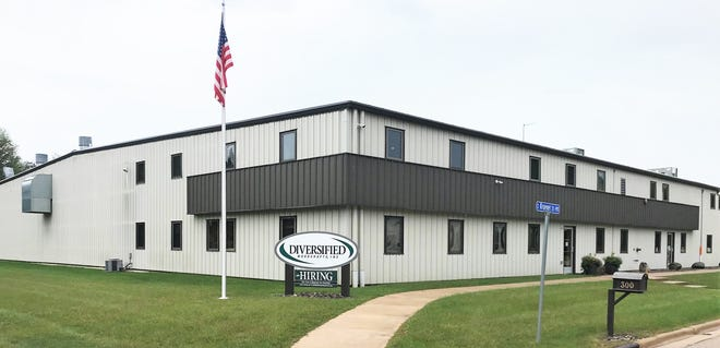 The 100,000 square foot Diversified Woodcrafts facility in Suring.