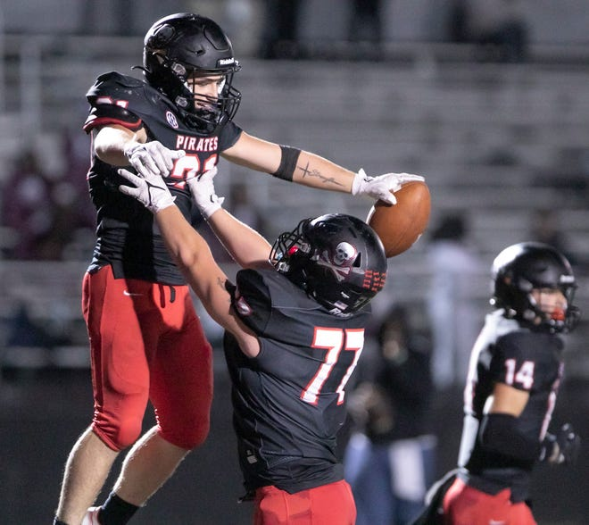 Pinckney is 2-1 on the football field this season, but will have to forfeit a home game against Chelsea scheduled for Friday because of COVID cases on the Pirates' coaching staff.