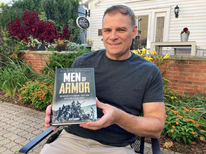 Granville historian Jeff Danby's projected multi-volume history of tank warfare springs from his research into his grandfather's WWII combat death.