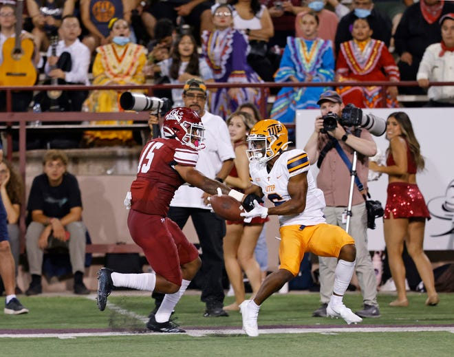 Torren Union made his first college start last week. Union came to New Mexico State from South Dakota State and is the nephew of actress Gabrielle Union and former NBA superstar Dwyane Wade