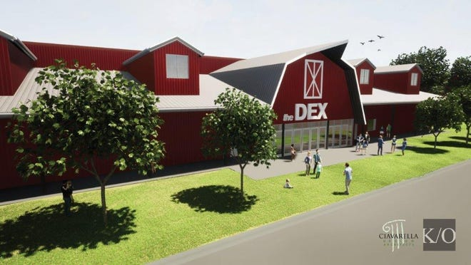Plans for the Dakota Entertainment Complex in Huron call for 150,000 square feet, 5-000 seats and a 2022 completion date.