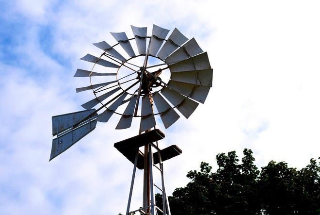 Wind power is wonderful, as long as the wind blows.
